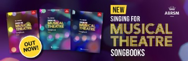 New Singing for Musical Theatre Songbooks