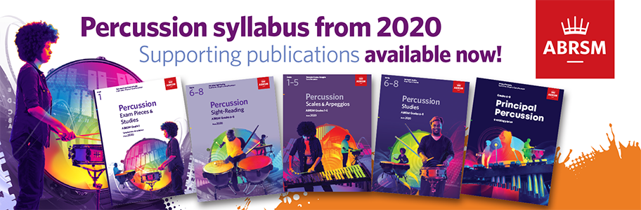 NEW Percussion Syllabus from 2020