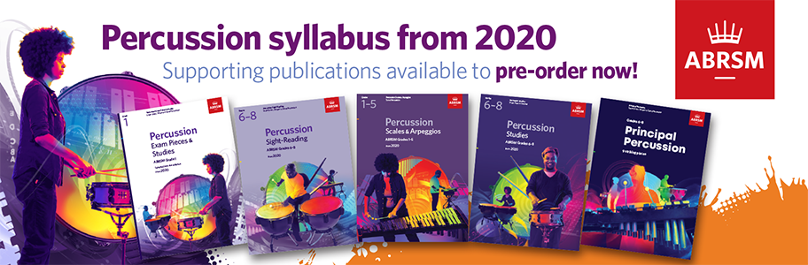 ABRSM Percussion Syllabus from 2020
