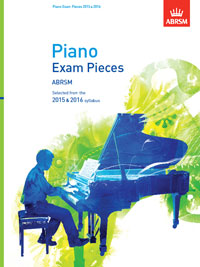 Piano Exam Pieces 2015 & 2016