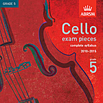 Recordings of Cello Exam Pieces 2010–2015