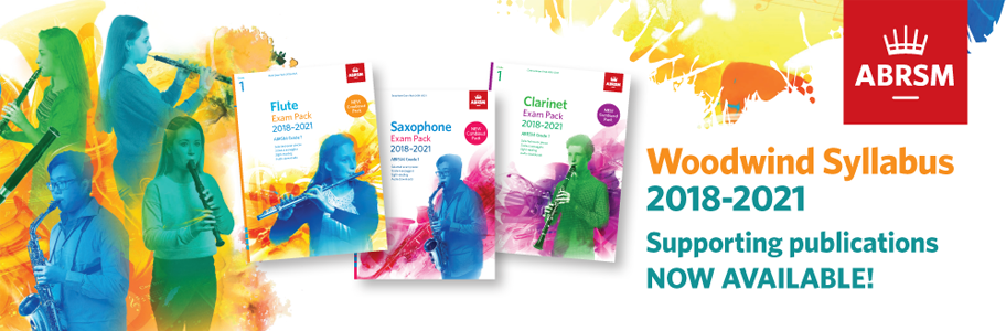New Woodwind Syllabus from 2018