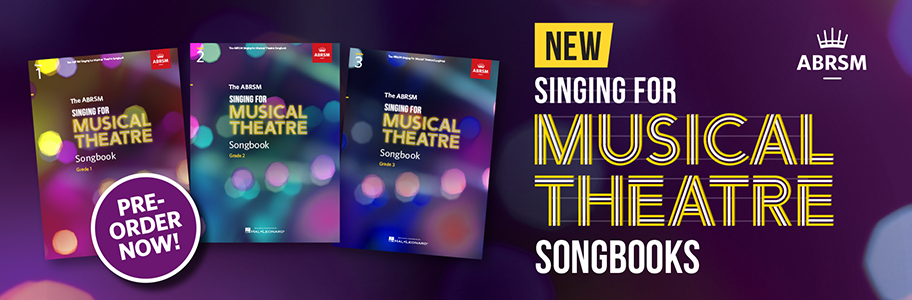 ABRSM Singing for Musical Theatre Songbooks