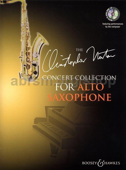 Christopher Norton Christopher Norton Concert Collection For Alto Sax