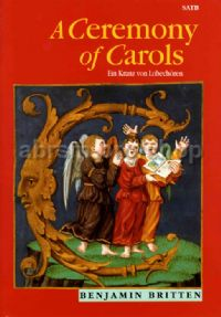 A Ceremony Of Carols SATB & harp