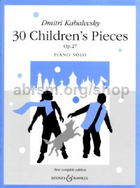 30 Children's Pieces Op. 27