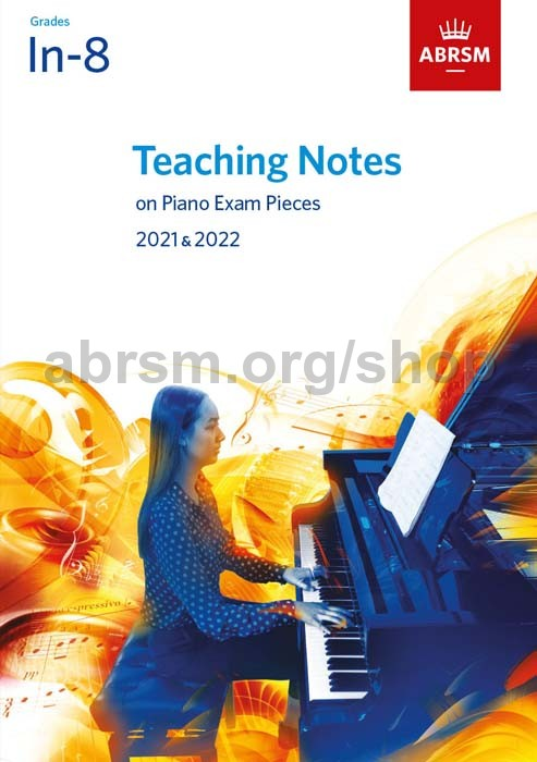 ABRSM Initial Piano 2021-2022 Selected Exam Pieces Book CD