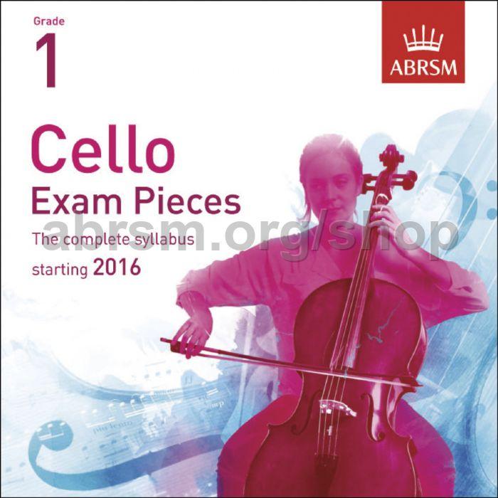 ABRSM - Cello Exam Pieces 2016 CD, ABRSM Grade 1