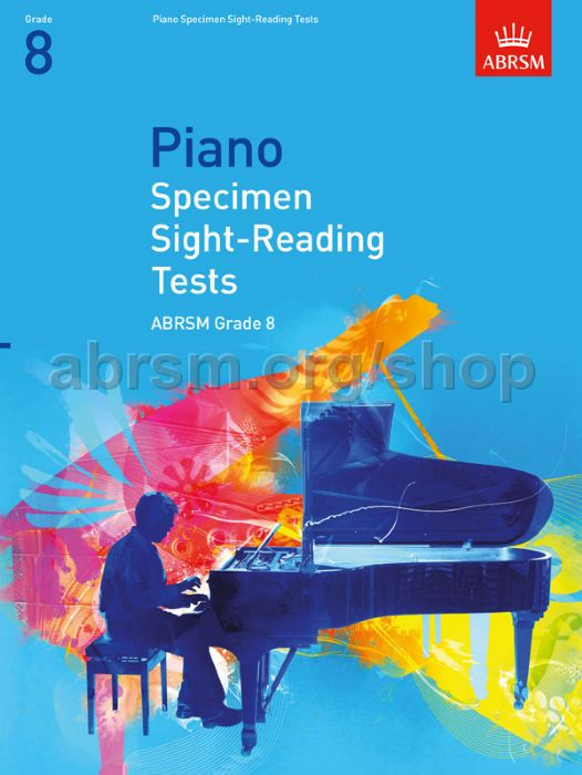 Piano Specimen Sight-Reading Tests, Grade 8 - ABRSM