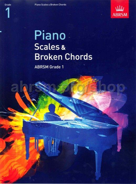 Piano Scales Broken Chords Grade 1 Abrsm