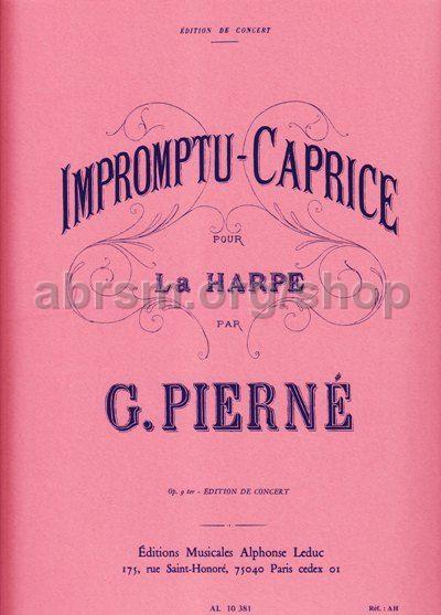 gute Qualität sehr bekannt Top Marken Gabriel Pierne - Impromptu-Caprice Op.9