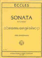 Sonata in G minor - for double bass & piano