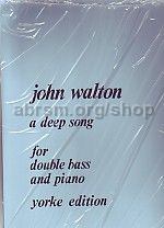 A Deep Song for double bass & piano