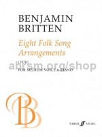 Eight Folk Song Arrangements (Medium Voice & Piano)