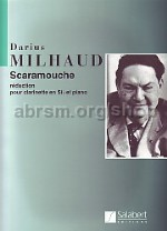 Scaramouche Op. 165d - clarinet & piano reduction