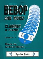 Bebop And More! Clarinet & Piano (Book & CD)
