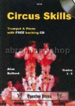 Circus Skills for Trumpet & Piano (Book & CD)