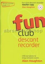 Fun Club Descant Recorder, Grade 2–3 Teacher Book (Book & CD)
