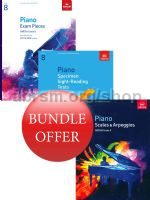 ABRSM Piano Exams 2017-2018 Grade 8 Bundle Offer (Book Only) - Save 10%