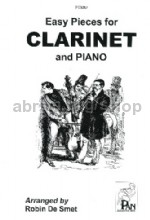 Easy Pieces for clarinet in Bb & piano
