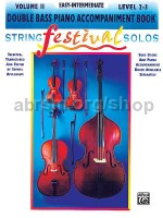 String Festival Solos - Double Bass Vol. 2 (piano accompaniment)