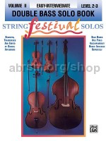 String Festival Solos - Double Bass Vol. 2 (double bass part only)