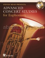 Advanced Concert Studies for Euphonium Bass Clef (Book & CD)