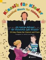 Classical Music for Children for clarinet in Bb & piano