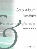Solo Album No1 Bassoon & Piano