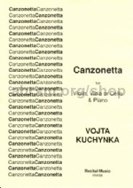 Canzonetta for Violin, Viola or Cello and Piano