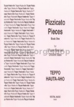 Pizzicato Pieces Book 1 for unaccompanied double bass