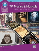 Top Hits From TV, Movies & Musicals (Violin book + CD)