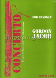 Concerto for Bassoon and Strings - bassoon & piano reduction