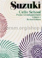 Cello School, Vol. 1 (Revised edition) - Piano accompaniment