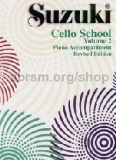 Cello School, Vol. 2 (Revised edition) - Piano accompaniment