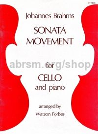 Sonata Movement for cello & piano