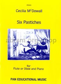 Six Pastiches for flute & piano