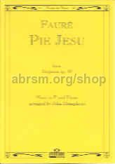 Pie Jesu from Requiem, Op. 48