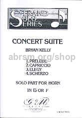 Concert Suite for Horn and Piano