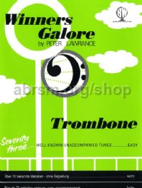 Winners Galore (Trombone) (bass clef) (Book only)