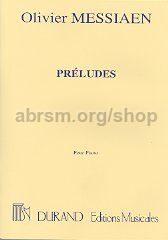 Préludes for piano