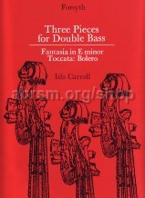 Three Pieces For Double Bass