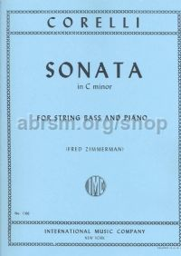 Sonata in C minor Op. 5 No. 8 for double bass & piano