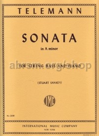 Sonata in A minor for Double Bass