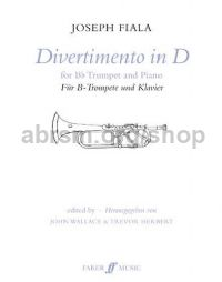 Divertimento in D Major, (Trumpet & Piano)