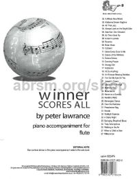 Winner Scores All for Flute (Piano Accompaniment)