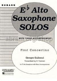 First Concertino for Eb Alto Saxophone