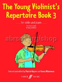 The Young Violinist's Repertoire, Book III (Violin & Piano)