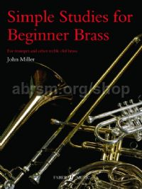 Simple Studies for Beginner Brass (Treble Clef Instrument)