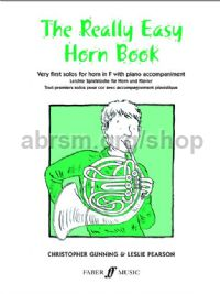 The Really Easy Horn Book (Horn & Piano)